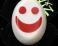 Slidery Wiz - Smajlík bílo-červený