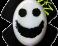 Slidery Wiz - Smajlík bílo-černý