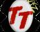 Slidery Wiz - TT bílo-červené